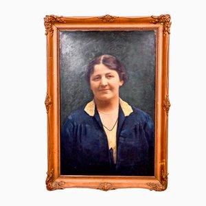 Retrato de una mujer pintando, 1927