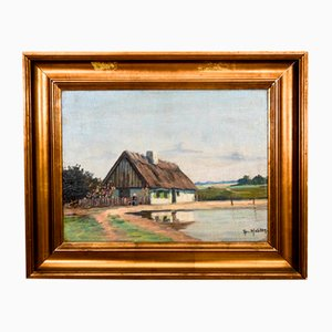 Cottage Painting, 1940s
