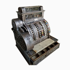 Antique Cash Register from National Cash Register Co, 1910s