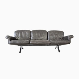 Brown Leather Model DS31 Sofa from de Sede, 1980s