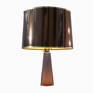 Mid-Century Italian Murano Glass Table Lamp by Paolo Venini, 1950s