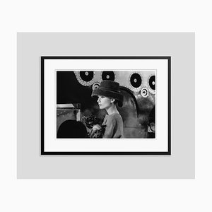 Audrey Hepburn Audrey's Funny Face Silver Gelatin Print Framed in Black by Bert Hardy, 1956