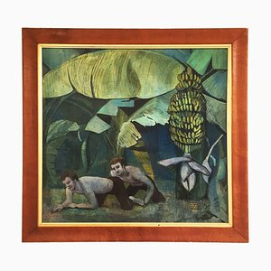 Jungle Painting von Alan Healey, 1986