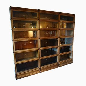 Antique English Modular Bookcase from Globe Wernicke