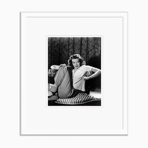 The Philadelphia Story Starring Katharine Hepburn Archival Pigment Print Framed in White by Everett Collection