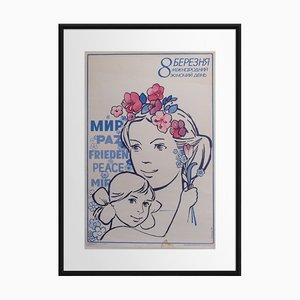 8. März, Internationaler Frauentag   Russland   1986