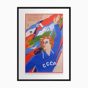 Zur Höhe der sportlichen Leistungsfähigkeit   Russland   1979