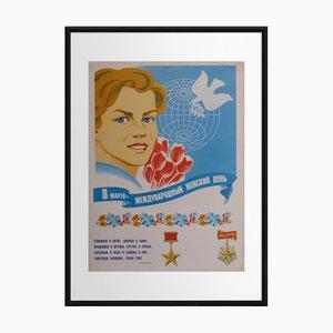 8 mars, Journée Internationale de la Femme   Russie   1980