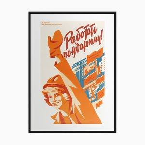 Arbeit mit den meisten Anstrengungen   Ukraine   1985