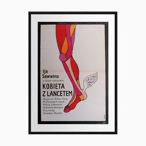 Femme avec une Lancette   Pologne   1973