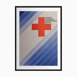 Affiche Croix Rouge   Pologne   1970