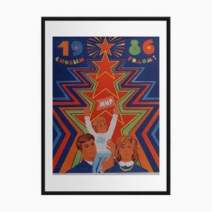 Frohes Neues Jahr 1986 | Russland | 1986