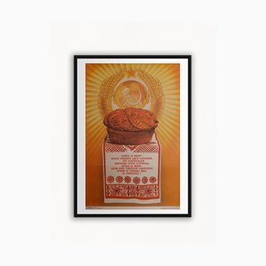Russian (USSR) Bread & Peace is the Basis of All Our Doings | Russia | 1987