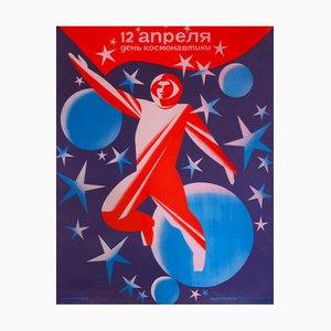 12th April Cosmonauts Day   Russia   1985
