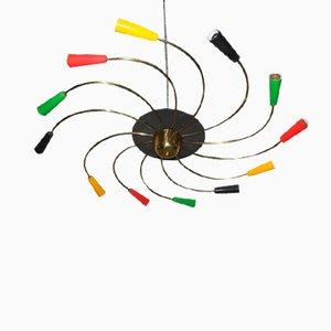 Italian Particular Ceiling Lamp, 1950