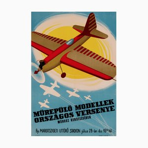 National Competition of Artificial Aircraft Models | Hungary | 1956