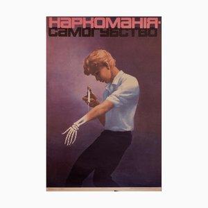Drug Addiction is Suicide | Ukraine | 1988
