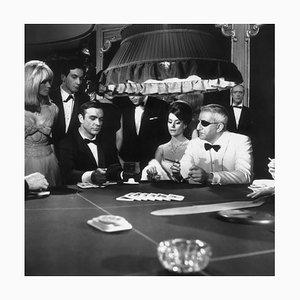 James Bond 007 Thunderball 'März 08 Silbergelatine Harz Kunstdruck in Schwarz von MacGregor, 1965