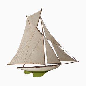 Segelboot Modell, 1940er