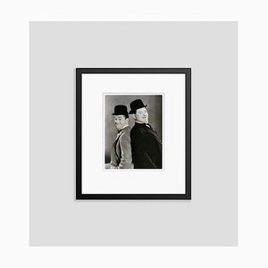 Laurel and Hardy in Sons of the Desert Archival Pigment Print Framed in Black by Bettmann