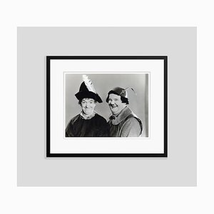 Laurel and Hardy in Babes in Toyland Archival Pigment Print Framed in Black by Bettmann