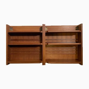 Small Teak Bookcase, 1970s