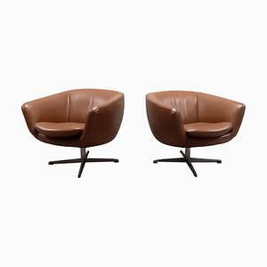 Lounge Chairs by Eric Klote for Overman, 1970s, Set of 2