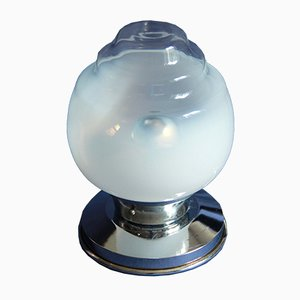 Italian Space Age Murano Glass Table Lamp, 1960s