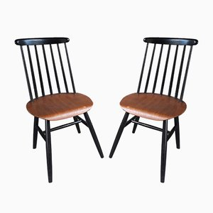 Mid-Century Fanett Dining Chairs by Ilmari Tapiovaara, Set of 2
