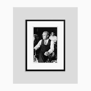 Steve Mcqueen Thomas Crown Silver Gelatin Resin Print Framed in Black by Hulton Archive