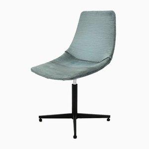 Mid-Century Swivel Desk Chair by Augusto Bozzi for Saporiti Italia, 1950s