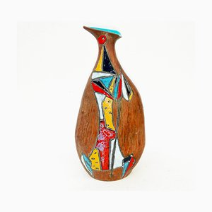 Astratto Vase Sculpture by Marcello Fantoni, 1950s
