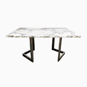 Marble Dining Table by Françoise See, 1970s