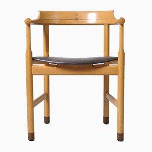 Sedia da scrivania modello PP52 di Hans J. Wegner per PP Møbler, anni '70