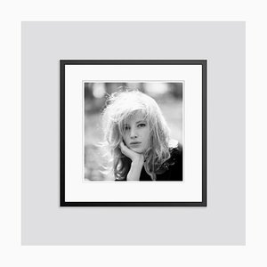 Monica Vitti 1973 Archival Pigment Print Framed in Black by Giancarlo Botti & Gamma-Rapho