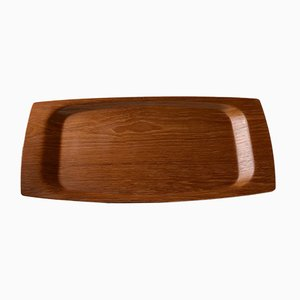 Large Danish Teak Serving Tray from Langva, 1960s