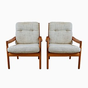 Scandinavian Lounge Chairs from Walter Knoll / Wilhelm Knoll, 1960s, Set of 2