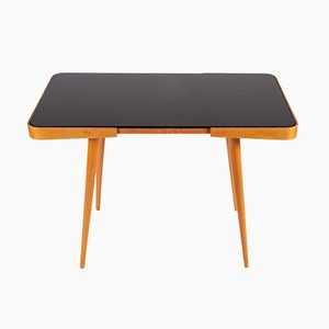 Wooden Coffee Table with Opaxite Top from Interier Praha, 1960s