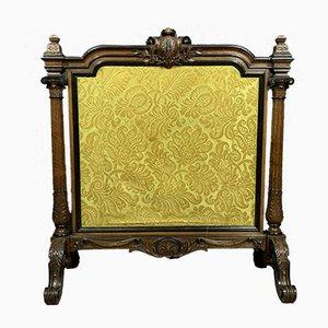 Louis XVI Raumteiler aus Palisander und Genua mit Samtbezug