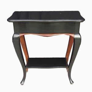 Tavolino vintage laccato, anni '20
