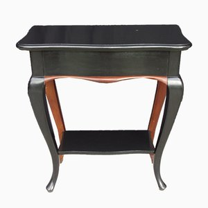 Vintage Lacquered Side Table, 1920s