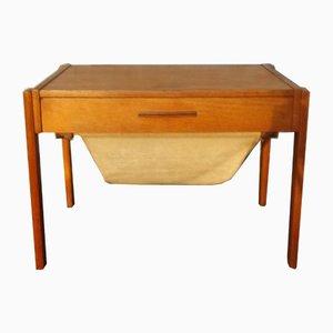 Danish Teak Sewing Table from PBJ Møbler, 1960s