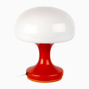 Vintage Model M2 Glass Table Lamp by Štěpán Tabery for OPP Jihlava, 1970s