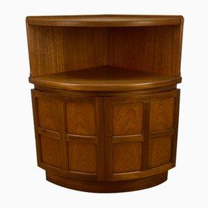 Vintage Corner Cabinet from Nathan, 1970s