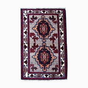 Afghanischer Vintage Baluch Teppich, 1980er