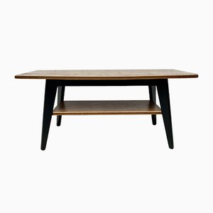 Mid-Century Coffee Table with Formica Shelf