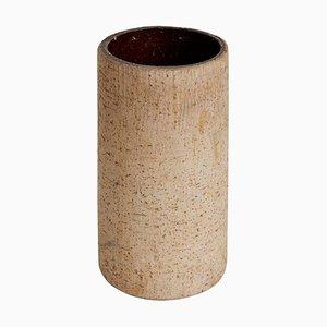 Jarrón brutalista de cerámica