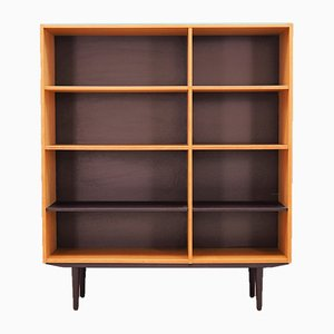 Vintage Danish Ash Bookcase from Domino Møbler, 1970s