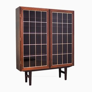 Vintage Danish Rosewood Bookcase from Omann Jun, 1970s
