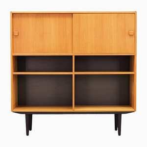 Mid-Century Danish Ash Bookcase from Domino Møbler, 1960s